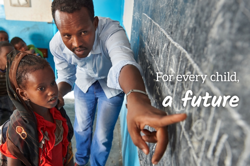 UNICEF Survival Gift greeting card for Shape a Future