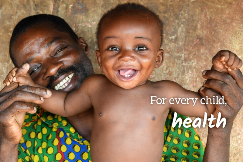 UNICEF Survival Gift greeting card for health